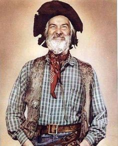 Gabby Hayes  This guy played an old man, even when he was young! And he ever good at it! Loved this guy!