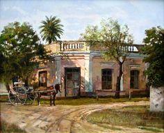 Hispanic American, Diego Rivera, Southern Homes, Gaucho, Classical Art, Old Barns, Provence, Puerto Rico, Mexico