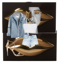 """Untitled #117"" by dare2mix on Polyvore featuring Charlotte Olympia, Aquazzura, Theory and Alexander Wang"