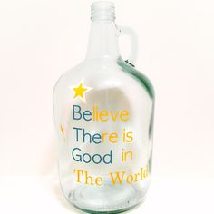 Believe there is Good by KrystlesCraftCloset on Etsy