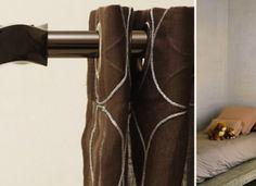 Las cortinas tradicionales con motivos o colores fuertes dan un plus personalizado y moderno a cualquier estancia.