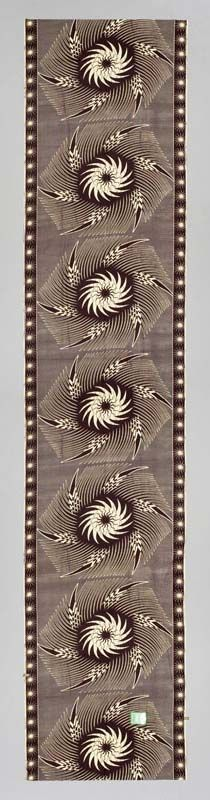 Africa | Cloth from Ghana | ca. 2005 | Cotton, plain weave, printed.