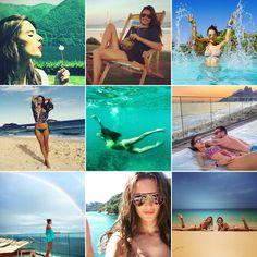 Pin for Later: Euer Sommer wird nie enden mit diesen Urlaubsfotos der Stars Alessandra Ambrosio