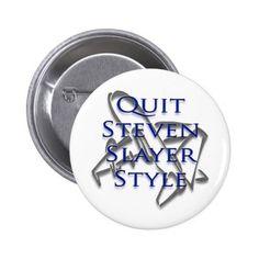 Steven Slater Flight Attendent Merchandise Button