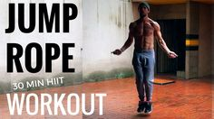 30 Min. Jump Rope HIIT Workout - YouTube