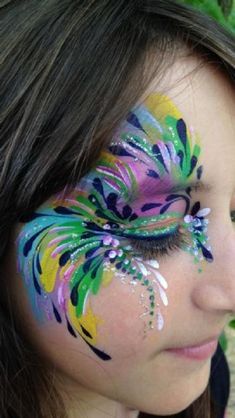 Face Painter Facial Attraction - Face Painter in Kings Langley (UK) - womenfashion Face Painting Tips, Adult Face Painting, Face Painting Tutorials, Belly Painting, Eye Painting, Face Painting Designs, How To Face Paint, Face Paintings, Face Paint Makeup