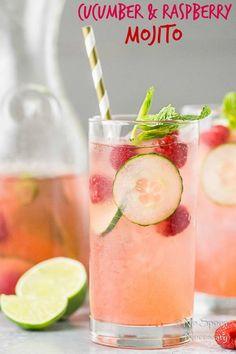 Cucumber & Raspberry Mojito-short pin2