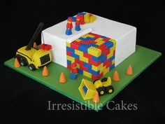 Image Search Results for lego cake ideas Cake Ninjago, Lego Cake, Image Birthday Cake, Lego Birthday, Birthday Cakes, Birthday Ideas, Fourth Birthday, Cupcakes, Cupcake Cakes
