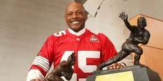 Archie Griffin. The only 2 time Heisman winner- from THE Ohio State University, and how it should remain...