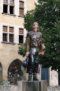 Statue de Cyrano à Bergerac (2005)