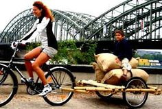 The Homestead Survival  Bamboo bicycle Trailer DIY Project + links to 5 other diy trailers  http://thehomesteadsurvival.com/?p=18091