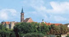 The Romantic Road-Friedberg-Lake Friedberg offers recreation and the museum at Wittelsbach Castle offers history.