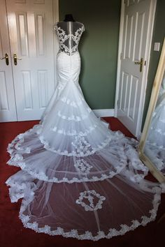 So here is one of my recent works, a galia lahav fiona inspired wedding gown. Took me almost three months to match fabric and lace, eventually I have the first image of it.