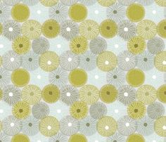 Radial Symmetry fabric by nadiahassan on Spoonflower - custom fabric