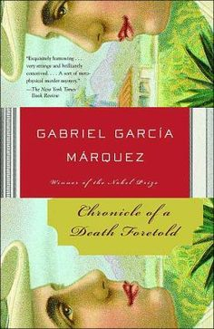 """Written by Gabo. It's just hard to not be fan of his magical realism. This short book as many of his master pieces have extended effects and memories thanks to his wonderful narrative. """"This investigation of an ancient murder takes on the quality of a hallucinatory exploration, a deep, groping search into the gathering darkness of human intentions for a truth that continually slithers away."""" –The New York Review of Books"""