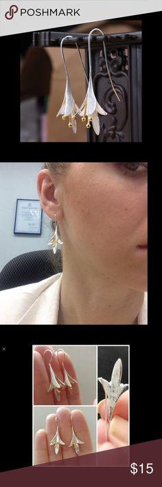 925 Sterling Silver Long Flower Earrings for Women 925 Sterling Silver Long Flower Earrings for Women New Design Jewelry Earrings Casual Chic Summer, Casual Chic Style, Flower Earrings, Women's Earrings, Dream Engagement Rings, Sterling Silver Flowers, Silver Pendants, Metal Jewelry, Indian Jewelry