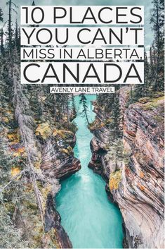 Top 10 things to do in Alberta Canada! Including, Waterton Lakes National Park, Banff National Park, Jasper National Park, Johnston Canyon, Banff hot springs, Lake Louise, Peyto Lake and so much more! #avenlylanetravel #canada #avenlylane #alberta #nationalparks #northamerica #travel #travelinspiration #canadatravel #banffnationalpark #banff Cool Places To Visit, Places To Travel, Places To Go, Vacation Destinations, Vacation Spots, Vacations, Visit Canada, Canada Eh, Waterton Lakes National Park