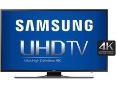 """Smart TV LED 55"""" Samsung 4k/Ultra HD Gamer - UN55JU6500 Wi-Fi 4 HDMI 3 USB com…"""