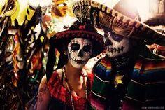 Image result for traditional dia de los muertos costume
