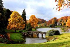 Fotos paisaje natural del otoño
