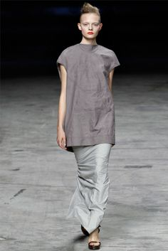 rick owens19 Rick Owens Spring 2012 | Paris Fashion Week