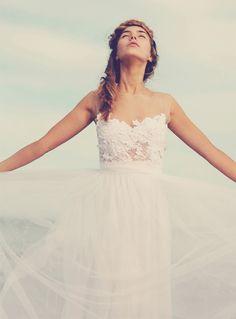 Design Your Own Vintage Lace Wedding Dress Online. Tulle.