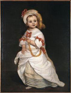 Portrait d'une infante, Juan Carreno de Miranda (1614-1683)