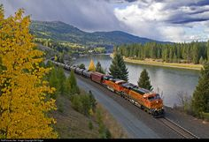 RailPictures.Net Photo: BNSF 5956 BNSF Railway GE ES44AC at Troy, Montana by Bill Edgar