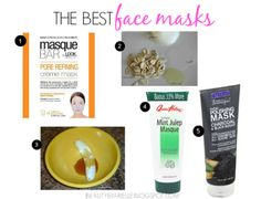 The Best Face Masks! #skincare #facecare #review - bellashoot.com