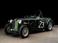1949 MG TC Race Car