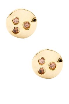 Chloe Shimmer Stud Earrings