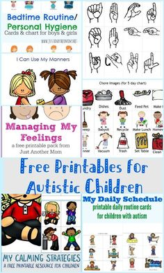 Are you in need of free printables for autistic children? Be sure to check out my free resources!