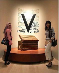 SNSD - HyoYeon & YuRi : Instagram Update : 함께 또 함께 #여형하라항해라비항하라 : @ Louisvuitton