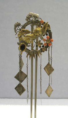 Hair ornament, late 19th c., Japan