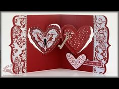 PREVIEW VIDEO - *NEW* Karen Burniston Pivot Card Dies for Elizabeth Craft Designs. This first collection of Pop it Ups dies will be available in mid-January 2014.