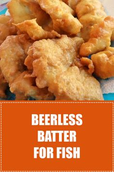 For a perfect fish batter without beer, this easy crispy recipe is SO GOOD! #batter #fish | recipezazz.com