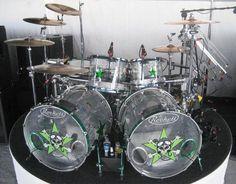 Drum Kits by Rikki Rockett