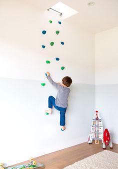 フリークライミング用の壁