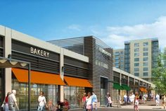 Image result for retail center architecture