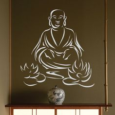 ABOUT BUDDHA WITH LOTUS  The word Buddha is a title and means Awakened or Enlightened One. Siddhartha Gautama, know to us as Buddha, lived about