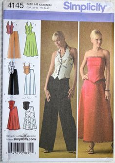 Simplicity 4145 Sewing Pattern Misses' Petite by SewHappyInAlaska