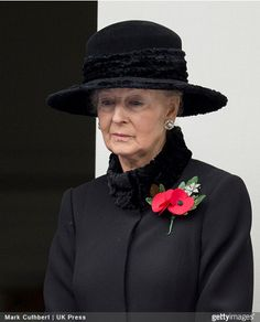 Princess Alexandra of Kent, November 9, 2014 | Royal Hats.....Posted on November 10, 2014 by HatQueen...The Remembrance Service at the Cenotaph on Whitehall yesterday saw participation from nearly every branch of the British Royal Family.