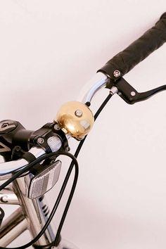 Kikkerland Design Brass Bike Bell