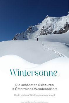 Die ursprünglichste Form des Skifahrens erleben. Wir haben die schönsten Tourentipps für Anfänger und Fortgeschrittene. Tauche ein in die unberührte Schneelandschaft und genieße deinen Wintersonnenmoment