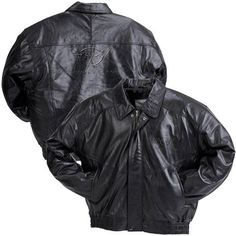 C5 Corvette Black Embossed Lambskin Jacket