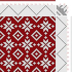 Hand Weaving Draft: Feb 1952 No. 22, Master Weaver, 10S, 10T - Handweaving.net Hand Weaving and Draft Archive