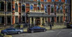 The Shelbourne Dublin is a luxury hotel in Dublin city center, overlooking St. Ideally situated close to Dublin's cultural and historic buildings Shelbourne Hotel, Dublin Hotels, Brick Facade, Dublin City, Over The Years, Places Ive Been, Street View, Europe, History