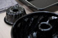 """porcelain enamel baking dish """"Guglhupf"""" - maxi & mini"""