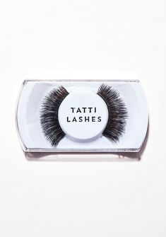 273073fdaee Tatti Lashes Human Hair Lashes TL28 at Dolls Kill, an online punk, goth,