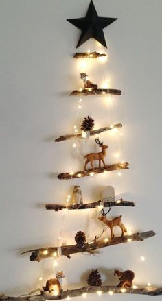 Christmas decorations, diy christmas tree и alternative christmas tree. Christmas Decor Diy Cheap, Diy Christmas Tree, Christmas 2017, Rustic Christmas, Christmas Projects, Christmas Holidays, Christmas Ornaments, Christmas Lights, Christmas Ideas